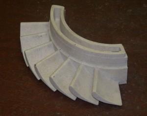 Восковая модель отливки.