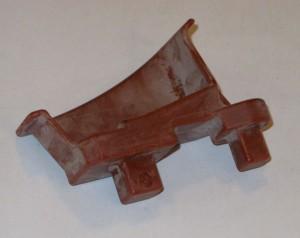 Восковая модель отливки. Корпус