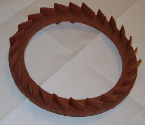 Восковая модель отливки. Аппарат направляющий
